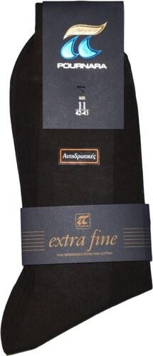 ΠΟΥΡΝΑΡΑ Πουρνάρα Ανδρικές Κάλτσες Βαμβακερές Αντιιδρωτικές Καφέ ... 6374c48a4be