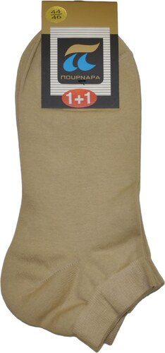 ΠΟΥΡΝΑΡΑ Πουρνάρα Ανδρικές Κάλτσες Σοσόνι - Διπλό Πακέτο Ανοιχτό Μπεζ a53e619dcd7