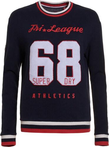 67ae77578836 Superdry Tri League Relaxed Crew Dark Blue γυναικεία μπλούζα με Vintage  κόκκινο λευκό τύπωμα