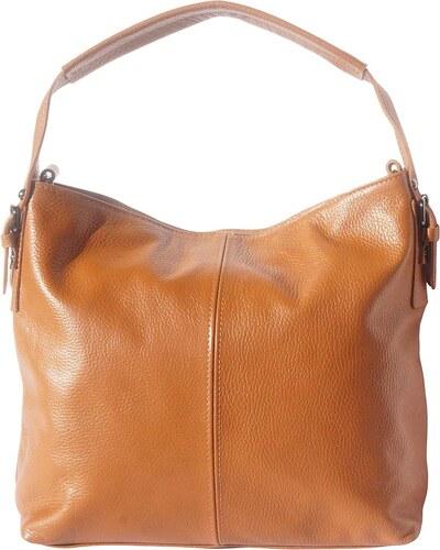 Δερμάτινη Τσάντα Χειρός Spontini Firenze Leather 5757 Μπεζ - Glami.gr 019104e8452