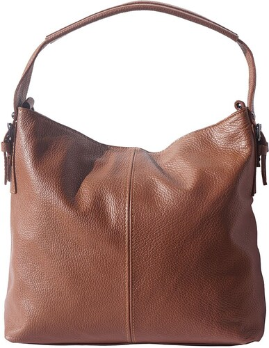 Δερμάτινη Τσάντα Χειρός Spontini Firenze Leather 5757 Καφε - Glami.gr d62f2001920