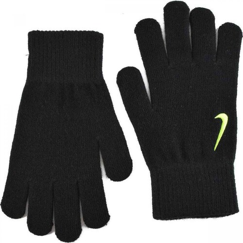 Nike YA Swoosh Knit Gloves Black - Glami.gr 3e068350b22