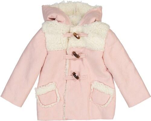 a0aafe4ec8a LA REDOUTE COLLECTIONS Παλτό με επένδυση από συνθετική γούνα, 3 μηνών-3 ετών