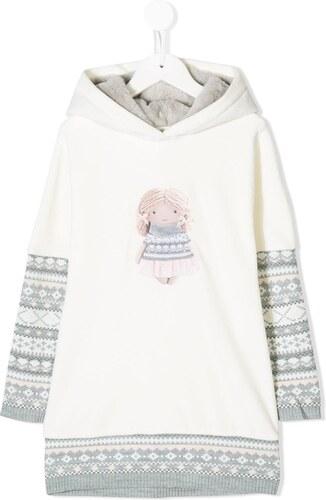 Lapin House doll print dress - White - Glami.gr d319d291a2b