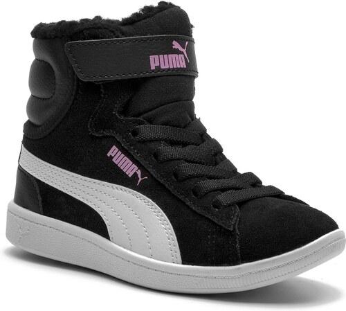 29a4a0a06ea Μποτάκια PUMA - Vikky Mid Fur V PS 366854 01 Puma Black/Puma White ...