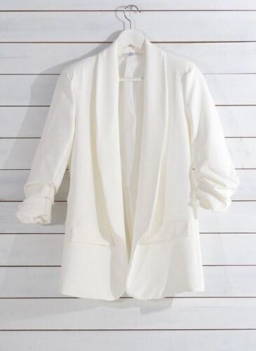 46004288f58a -30% The Fashion Project Σακάκι σε ίσια γραμμή - Λευκό - 03657001004