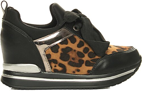 Luigi Sneakers με Εσωτερική Πλατφόρμα - Animal Print - 005 - Glami.gr c8952e8062b