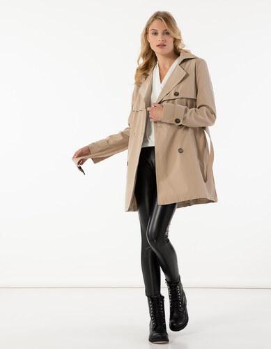 Issue Fashion Κλασσική κοντή καπαρντίνα με ζώνη στη μέση - Glami.gr 1f96537f10d