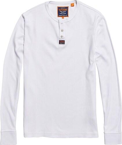 SUPERDRY Μακρυμάνικη μπλούζα HERITAGE GRANDAD - Glami.gr a4100334175