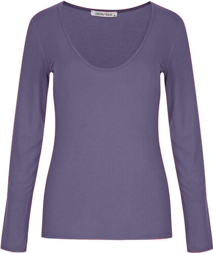 bc6066f98865 Celestino Στενή μπλούζα με V λαιμόκοψη SD4622.4001+6 - Glami.gr