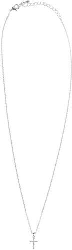 Celestino Κολιέ με λεπτή αλυσίδα και σταυρό με ζιργκόν SD1630.A129+1 ... cbf800f9c33