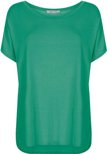 caf5fd4b59f9 -33% Celestino Plus size μπλούζα με καμπύλη στο τελείωμα SD4694.4001+6