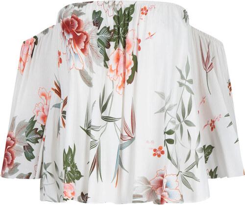 59f595b57eef Celestino Crop top με floral μοτίβο SD1539.4808+1 - Glami.gr