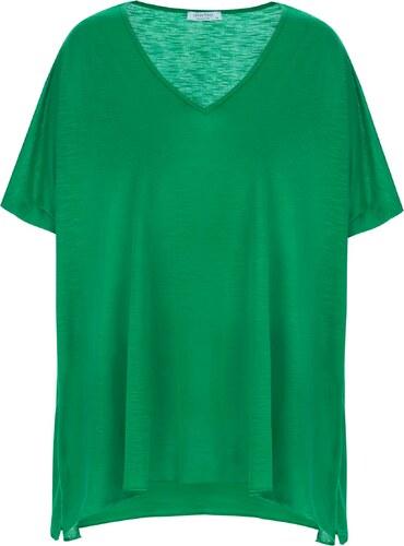 83917f326902 Celestino Plus size μπλούζα σε τετράγωνη γραμμή SD4752.4001+7 - Glami.gr