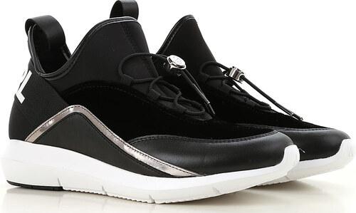 749ec1e894f Karl Lagerfeld Αθλητικά Παπούτσια για Γυναίκες Σε Έκπτωση, Μαύρο, Δέρμα,  2019, 36