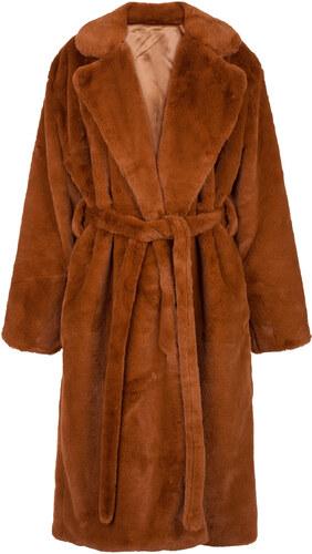 -20% Celestino Μακρύ παλτό από οικολογική-συνθετική γούνα WL673.7264+1 8c4ad0a3e34