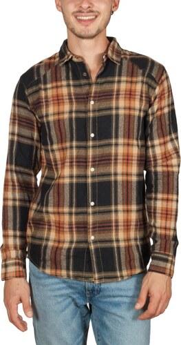 Anerkjendt Hallow πουκάμισο φανέλα καρό μαύρο-μπρονζέ - Glami.gr 7d20efb3746