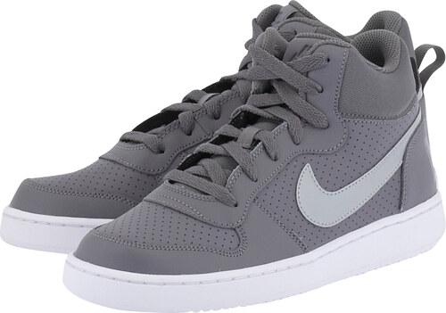 86d48f5eadb Nike Court Borough Mid (GS) 845107-005 - ΓΚΡΙ ΣΚΟΥΡΟ - Glami.gr