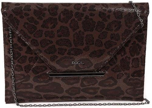 DOCA Τσάντα φάκελος μαύρη (13129) - Glami.gr ed242fd5c47