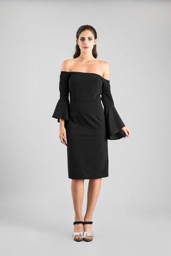 DOCA Φόρεμα μαύρο (37713) - Glami.gr a6686610563