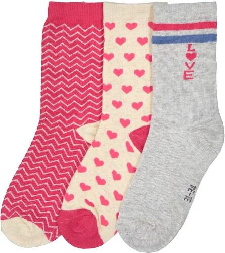 LA REDOUTE COLLECTIONS Σετ 3 ζευγάρια ψηλές κάλτσες 8b374545d42