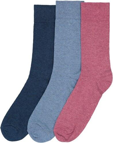 b38fd9f4110 LA REDOUTE COLLECTIONS Μονόχρωμες κάλτσες (σετ των 3) - Glami.gr
