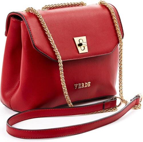 Τσάντα γυναικεία χιαστι Verde 16-4905-Κοκκινο 16-4905-Κοκκινο - Glami.gr 39793257e6c