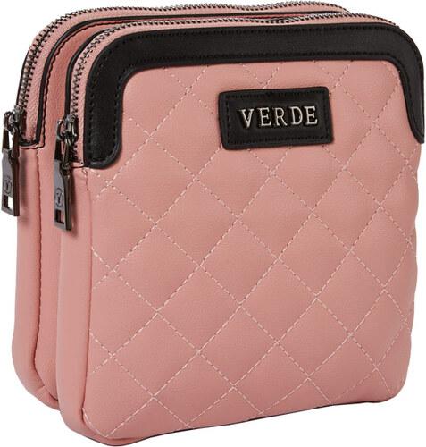 3e6a35ce6233 Τσάντα γυναικεία χιαστί Verde 16-4328-Ροζ 16-4328-Ροζ - Glami.gr