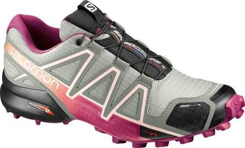 18abb99ddf -9% Αδιάβροχα αθλητικά παπούτσια γυναικεία Salomon Speedcross 4 CS W Shad  Sangria 392406 Γκρι Salomon
