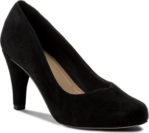 Κλειστά παπούτσια CLARKS - Dalia Rose 261322644 Black Suede - Glami.gr 31f09aab326