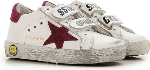 Golden Goose Παιδικά Παπούτσια για Αγόρια Σε Έκπτωση, Λευκό