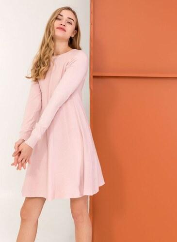 The Fashion Project Mini λεπτό πλεκτό φόρεμα σε άλφα γραμμή - Ροζ -  05977012009 d92e10f7eff