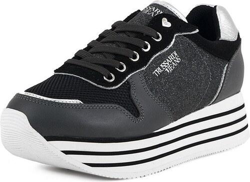 Γυναικεία Sneakers Trussardi Jeans (79A00246 Black) - Glami.gr 1dad8f73442