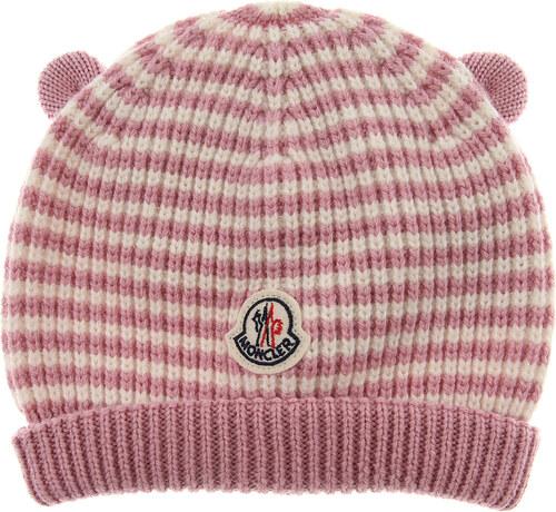 38046ec3a16 Moncler Βρεφικά Καπέλα για Κορίτσια Σε Έκπτωση, Ροζ, Παρθένο μαλλί, 2019,  XXXS