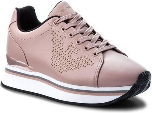 b5e43b9ce6 ΓΥΝΑΙΚΕΙΑ ΠΑΠΟΥΤΣΙΑ Sneakers Armani NUDE - Glami.gr