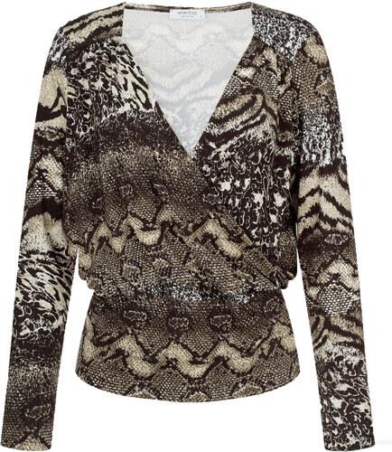 483535613e9e Celestino Κρουαζέ μπλούζα σε animal print WL4820.4006+4 - Glami.gr