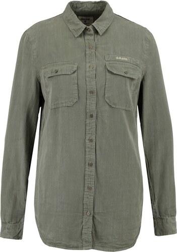 6f57031a306f Πουκάμισο γυναικείο μακρυμάνικο Garcia Jeans (T80233-3094-SAGE ...