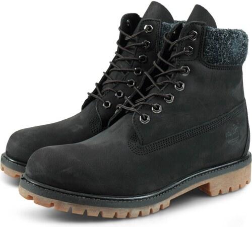 Timberland 6 Premium Boot CA1UEJ Μαύρο - Glami.gr 277392b857e