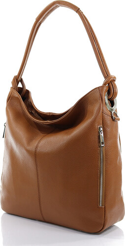 Passaggio Leather Hobo Bag Τσάντα Ώμου Από Γνήσιο Δέρμα Handmade In Italy  OEM 9919-KR d79977da77d