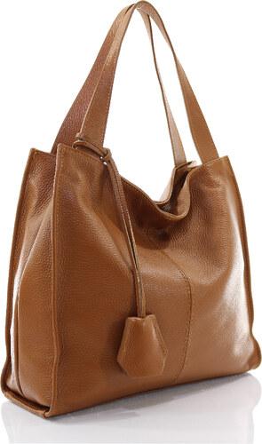 Passaggio Leather Hobo Bag Τσάντα Ώμου Από Γνήσιο Δέρμα Handmade In Italy  OEM 9930-KR b9385e2f0df