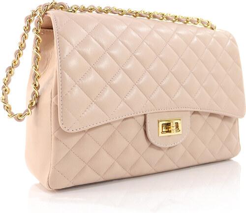 38d5fa9a6f Passaggio Leather Bag Καπιτονέ Ώμου-Χιαστή Τσάντα Από Γνήσιο Δέρμα Handmade  In Italy (Jumbo