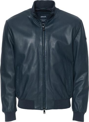 c42698d7e5 Δερμάτινο μπουφάν Armani Jeans Μπλέ ZGB01PZGP01 - Glami.gr