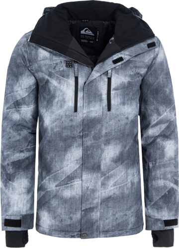 QUIKSILVER MISSION PRINTED SNOW ΜΠΟΥΦΑΝ ΑΝΔΡΙΚΟ EQYTJ03186-KPG2 (KPG2 GREY  SIMPLE TEXTURE) 4b0b4e310e4