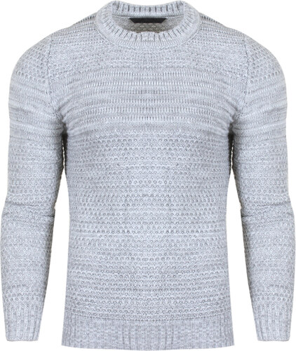 b3ba36dd30d6 Ανδρική Πλεκτή Μπλούζα Low Grey-L - Glami.gr