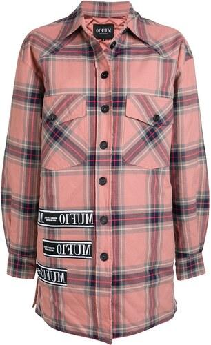 Muf 10 lumber check logo tape jacket - Pink - Glami.gr a34ab838e92