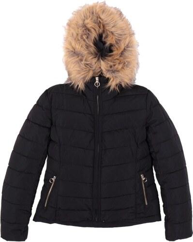 Only Ella Quilted Fur Hood Jacket 15158943 Μαύρο - Glami.gr e2233c24de5