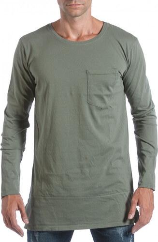 bf9a5680e643 Ανδρική πράσινη μπλούζα MM Studio - Glami.gr