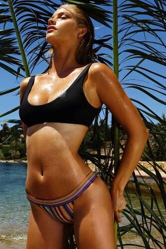 8f40c704b4f cocomo Bikini σετ μαύρο με εμπριμέ, limited edition - Glami.gr