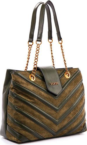 Τσάντα γυναικεία Ωμου Verde 16-4855-Πράσινο 16-4855-Πράσινο - Glami.gr d7ed800772b