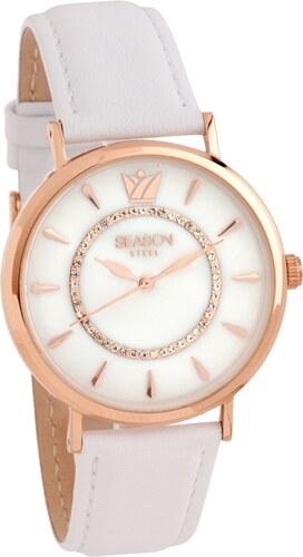 Ρολόι Season Time Pearl Series ροζ χρυσή Πλαίσιο 2202d400707